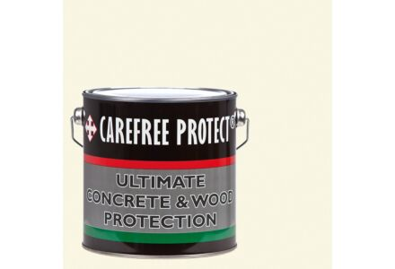 Carefree Protect coating Wit voor hout en beton 2.5 ltr.