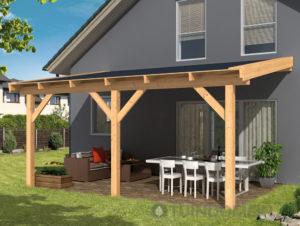 Ongekend Zelf een houten terrasoverkapping bouwen? - Tuindomein XR-85